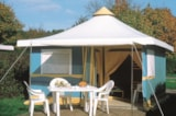 Rental - Canvas Bungalow Confort 2 Bedrooms (4 Persons And 1 Vehicle Included) - Camping du Lac de Lislebonne