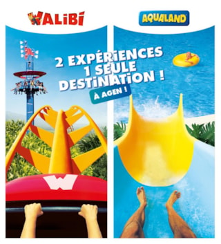 Stay 1 Park - Walibi Or Aqualand Agen