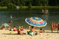 Beaches Flower Camping Du Lac De Lislebonne - Reaup Lisse