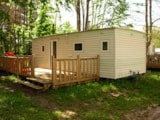 Rental - Mobile Home Eco - 2 Bedrooms - 34M² - Domaine du Lac de Neguenou