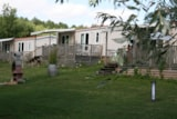 Rental - Mobile Home Luxe - 2 Bedrooms - 47M² / Seeblick - Domaine du Lac de Neguenou