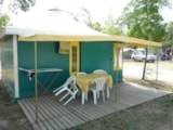Rental - Canvas Bungalow Kiwi (Without Private Facilities) - Camping Le Mouliat