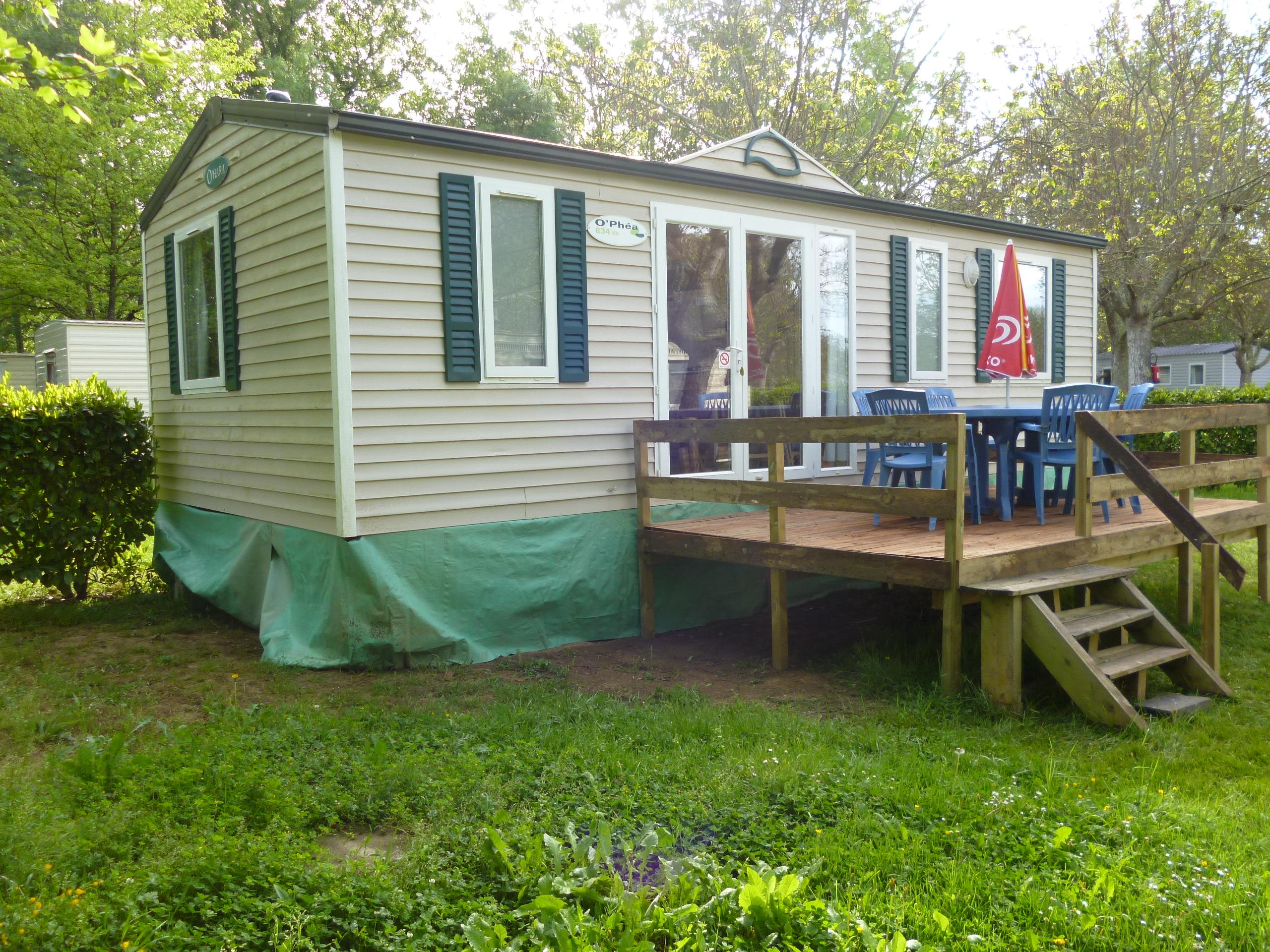Location - Mobil-Home 3 Chambres O'hara (X1) 31M2 - Camping Le Mouliat