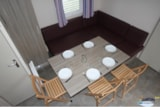 Rental - Mobile home (3 bedrooms) + sheltered terrace - Camping L'Étang du Pays Blanc