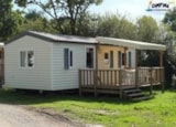 Rental - Mobilhome Confort (2 Bedrooms) Sheltered Terrace (Tv, Barbecue, Sheets Provided) - Camping L'Étang du Pays Blanc