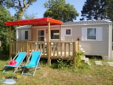 Rental - Mobil Home 4/6 persons LUXE with Dishwasher - Camping L'Étang du Pays Blanc