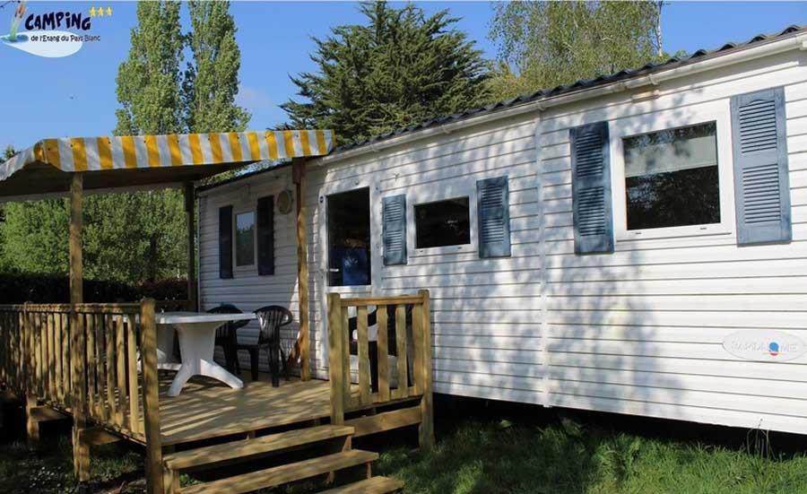 Location - Mobil Home Luxe 4/6 Pers - Camping L'Étang du Pays Blanc