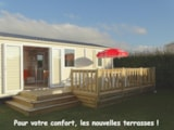 Rental - Mobile Home Cottage 2 Bedrooms 30M² - Camping L'Espérance