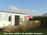 Rental - Mobile Home Cottage 3 Bedrooms 34M² - Camping L'Espérance