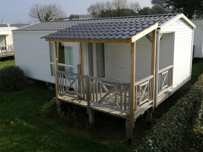 Location - Mobilhome Confort Plus 27M² - 2 Chambres - Terrasse Couverte - 11 Nuits - Camping Le Mat