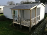 Rental - Mobilhome Comfort Plus 27M² - 2 Bedrooms - Covered Patio - 11 Nights - Flower Camping Le Mat