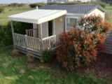 Rental - Mobilhome Comfort Plus 18M² - Covered Patio - Flower Camping Le Mat