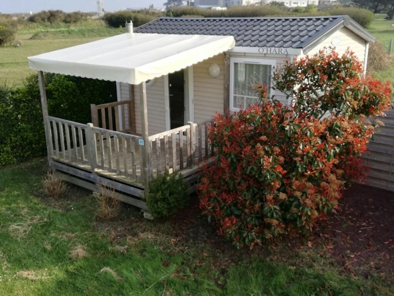 Mobilhome Comfort Plus 18m² - Covered Patio