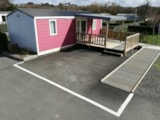 Rental - Mobilehome Premium 31M² - Sheltered Terrace - Wheelchair Friendly - Flower Camping Le Mat
