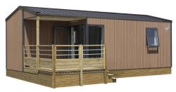 Mobil-Home Lodge 2 Ch 25.50M² (2 Chambres) + Terrasse 4/6 Personnes