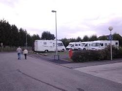 Camping-Car Area Package Outside The Campsite Without Sanitary Facilities And Without Electricity