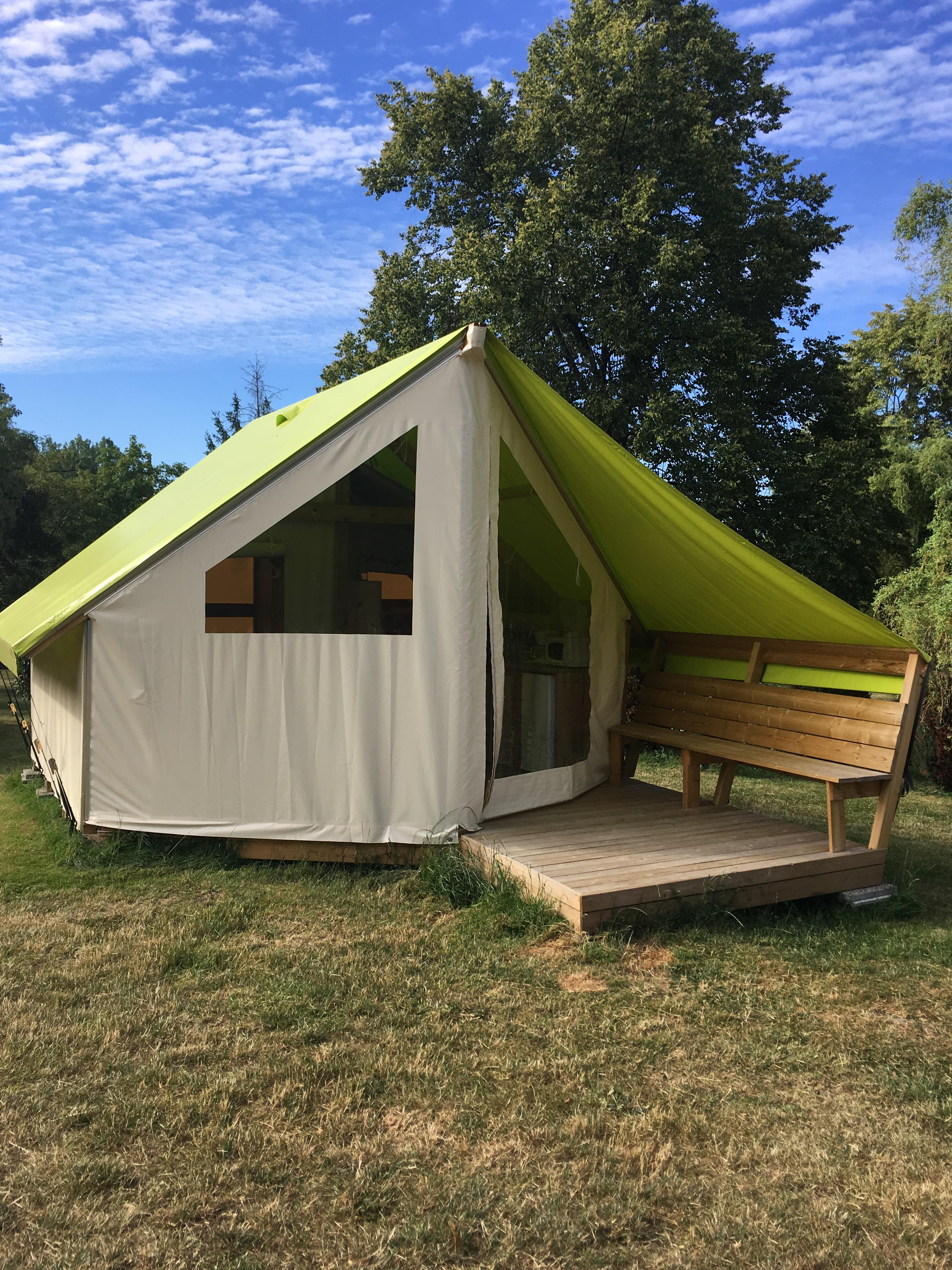 Alojamiento - Junior Ecolodge - 2 Bedrooms (Without Private Bathroom) - Camping Les Portes d'Alsace