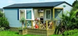 Rental - Mobile Home Confort  2 bedrooms 28.5m² + terrace - Flower Camping De Rhuys