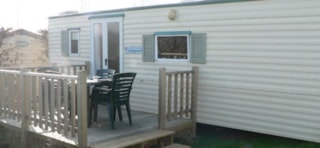 Mobile Home ECO  2 bedrooms + terrace - 21m²