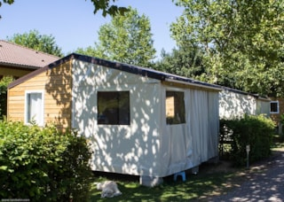Canvas Cottage 21 M² / 2 Bedrooms - Sheltered Terrace (Without Toilet Blocks)