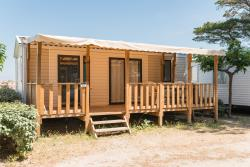 Air-conditioned mobile home AUTHENTIC range 27m² (under 5 years)