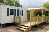 Rental - Mobile Home 3 bedrooms 36m² + terrace 18m² - Camping Les Acacias