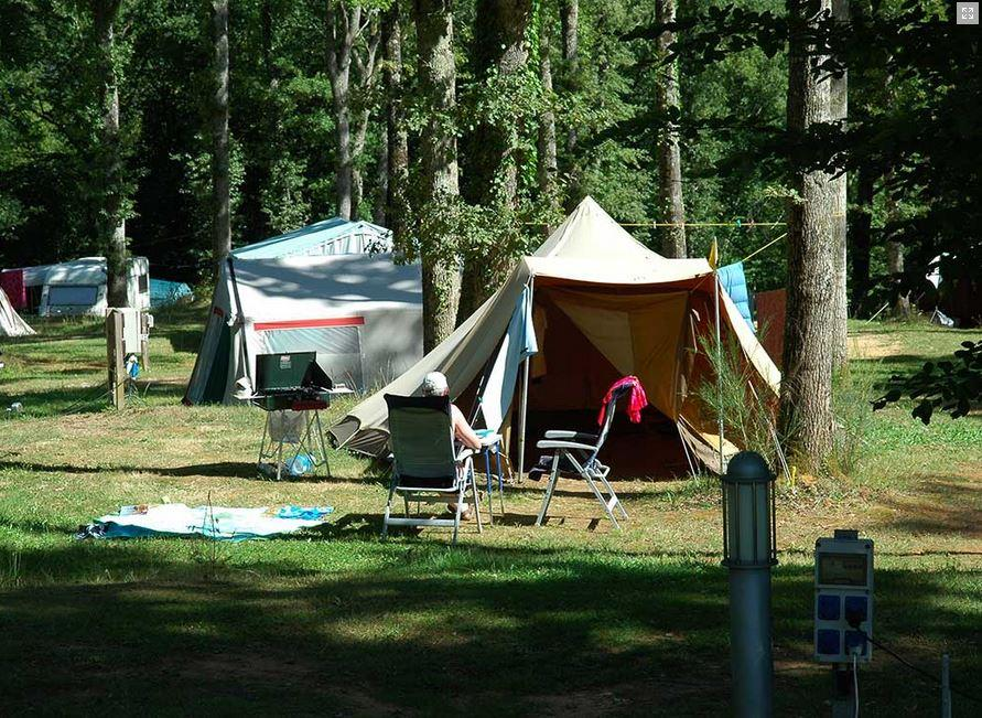 Camping pitch