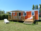Rental - Ophéa Pep's 3 bedroomss 33m² - Camping Les Amiaux