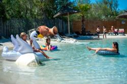 Baignade Flower Camping Soleil D'oc - Narbonne-Plage