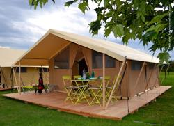 Accommodation - Tent(19 M2) - AIROTEL Camping Les Trois Lacs