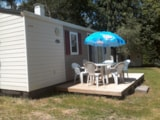 Rental - Mobil home 27m² - 2 Bedrooms - Camping Les Chelles