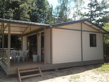Rental - Luxury Chalet 3 bedrooms 41m² with dishwasher - Camping Les Chelles