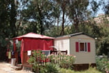 Rental - Mobil home 6 pers Hexa Confort - Camping Plateau des Chasses