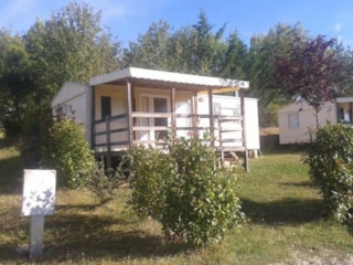 Mobile Home Rétro 38M² Sheltered Terrace 2 Bedrooms