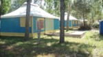 Rental - Canvas bungalow 35m² (2 bedrooms) without toilet blocks - wheelchair friendly - Camping L'Etoile de Mer
