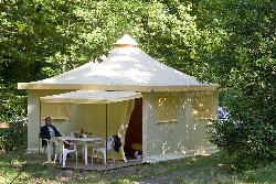 Bungalow tenda FUNFLOWER 20m² - 2 camere - senza sanitari
