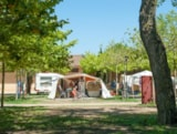 Pitch - Pitch Master L (100m²): car + tent/caravan or camping-car + electricity 10A + water point - Camping Playa Brava