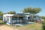 Pitch - Pitch Master XL (120m²): car + tent/caravan or camping-car + electricity 10A +water point - Camping Playa Brava