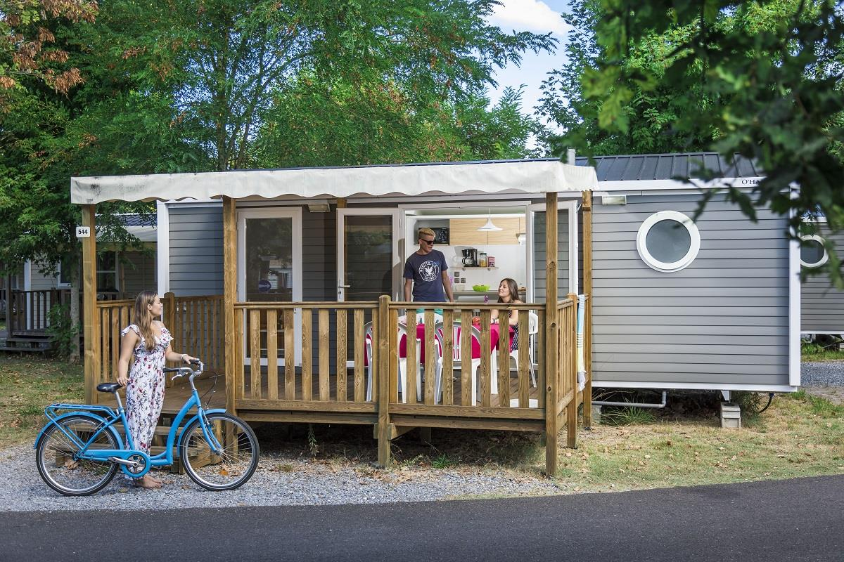 Location - Cottage Confort 2 Chambres - Camping Municipal Pipiou