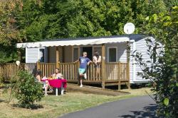 Accommodation - Mobile-Home Confort Plus 2 Bedrooms Adapted To The People With Reduced Mobility - Camping Pipiou