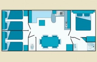 Mobile-Home 3 Bedrooms Plus