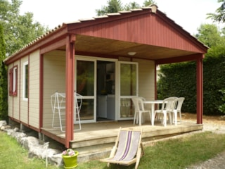 Chalet N° 4 22 m², 2 rooms + 10m2 covered terrasse
