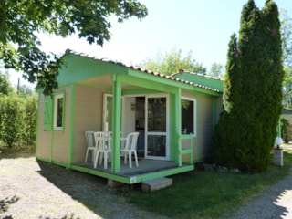 Semi-Detached Chalet 17M² - 1 Room + Covered Terrace 3M²