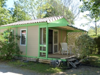 Chalet 22M² - 2 Rooms + Covered Terrace 10M²