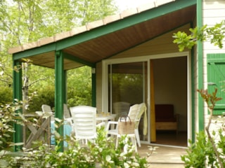 Chalet n°7 32m² - 2 Rooms + Covered terrace 8 m²