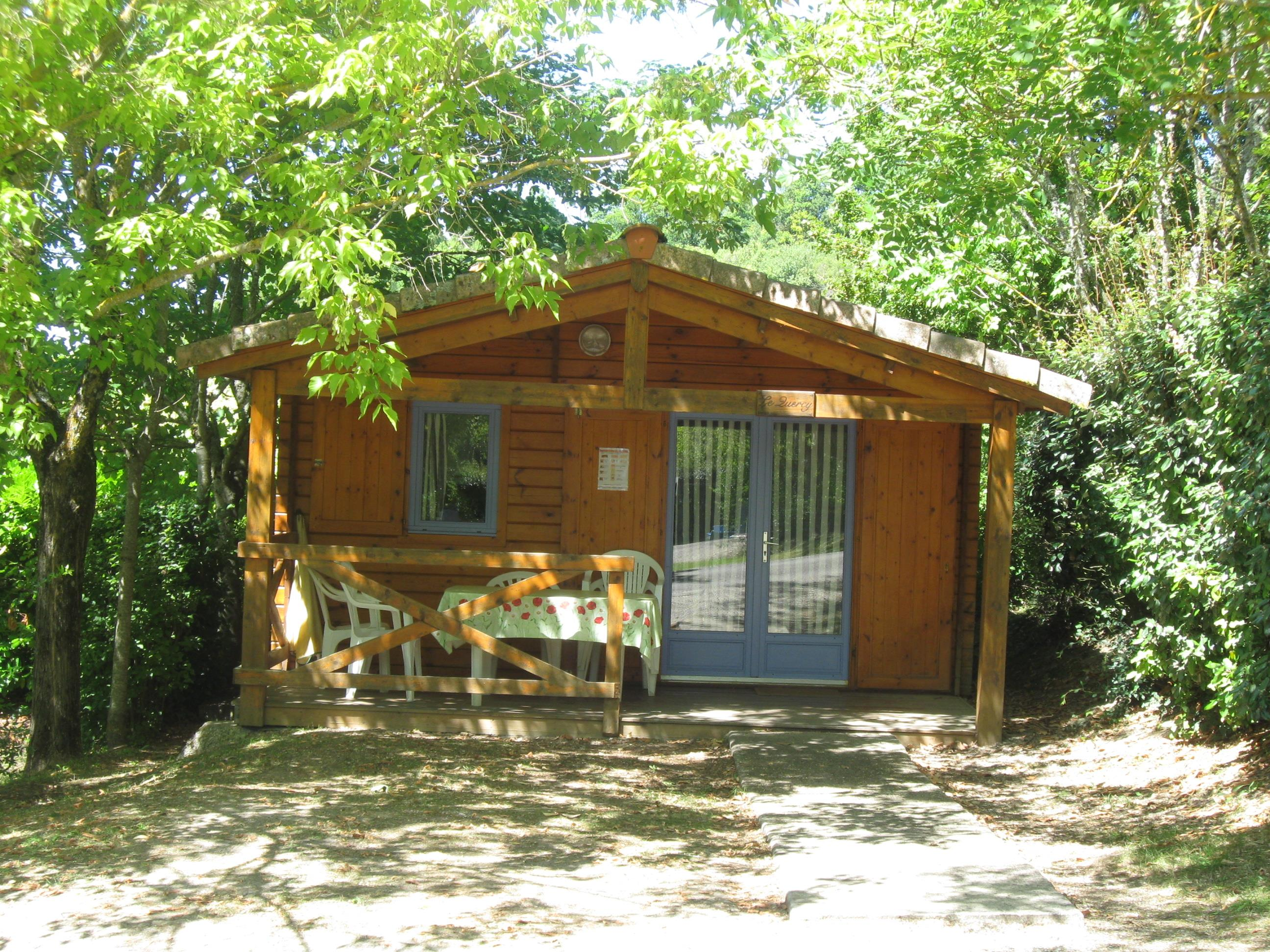 Location - Chalet - Camping Le Faillal