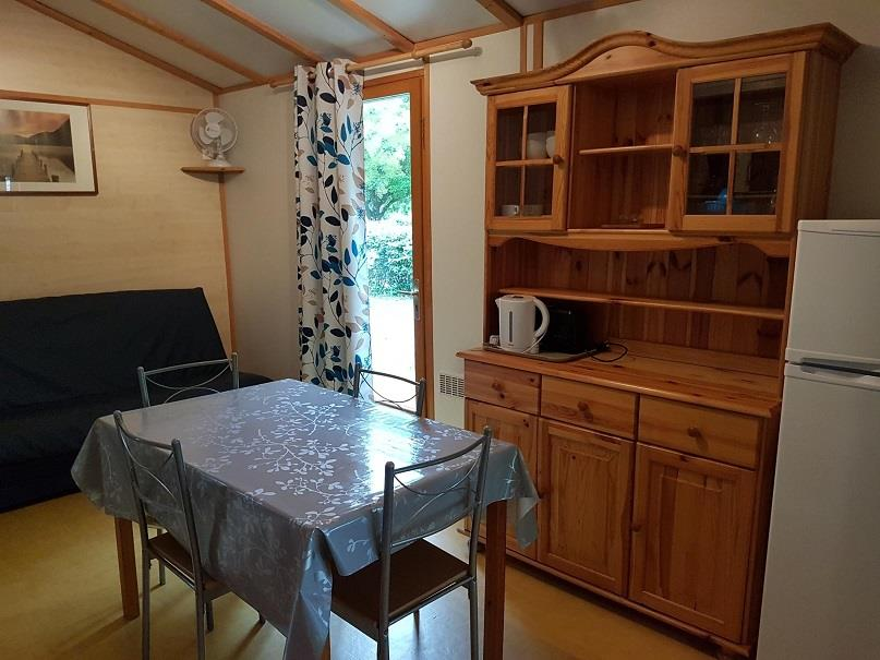 Chalet 40m² - sheltered terrace