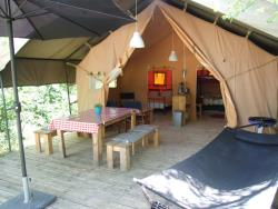 Tent Lodge Nature Atypical 30M² - 2 Rooms Without Sanitary