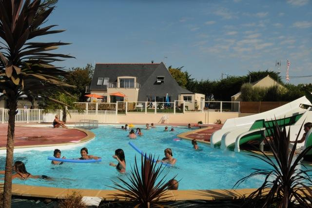 Bathing Flower Camping La Grande Plage - Lesconil
