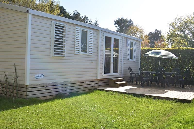 Location - Cottage 3 Chambres + Terrasse 34M² - Camping La Touesse